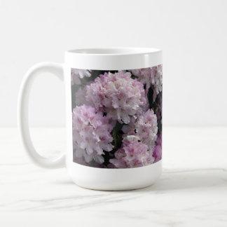 Pink Azaleas, Rhododendron Garden Flowers Classic White Coffee Mug