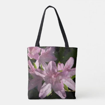 Beach Themed Pink Azaleas Tote Bag