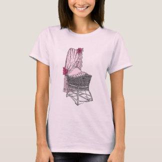 Pink Baby Bassinet T-Shirt