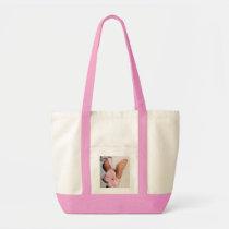 Pink Baby Booties Tote Bag