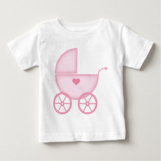 Pink Baby Buggy Baby T-Shirt