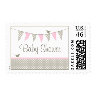 Pink Baby Bunting Postage