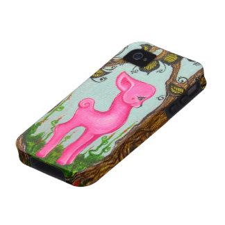 Pink Baby Dear Original Art IPhone 4 Case