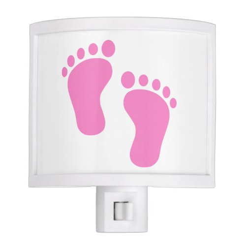 PINK BABY FEET NIGHT LIGHT