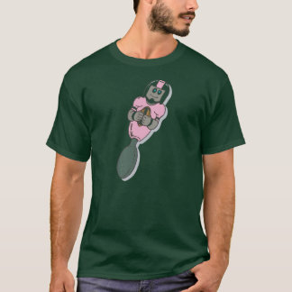 Pink Baby Football Spoon T-Shirt