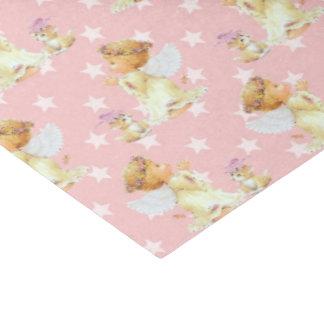 "Pink baby girl Angel pattern tissue paper 15"" X 20"" Tissue Paper"