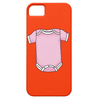 pink baby one piece iPhone SE/5/5s case