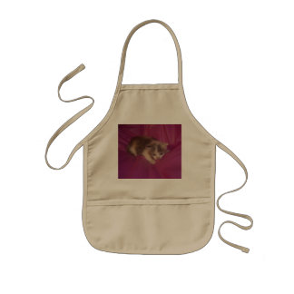 Pink Baby Patches Kids' Apron