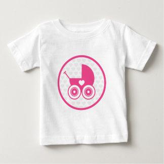 Pink Baby Pram Icon T-Shirt