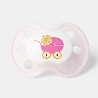 Pink Baby Princess Pacifier BooginHead Pacifier