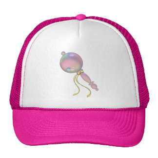 PINK BABY RATTLE by SHARON SHARPE Trucker Hat
