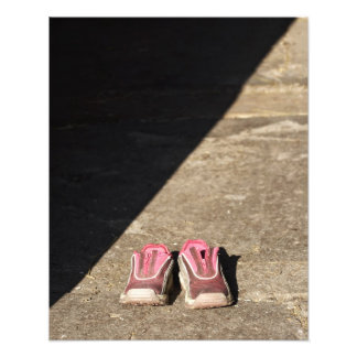 Pink Baby Shoes Photo Print