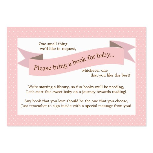 Card Book Template Book Insert Request Card
