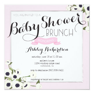 Brunch Baby Shower Invitations Announcements Zazzle