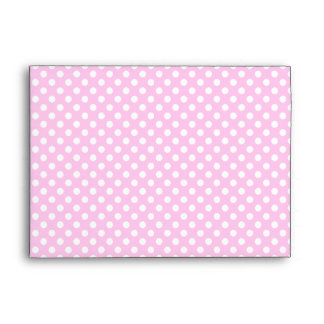 pink baby shower elephant envelope