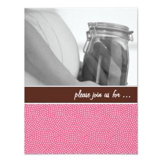 Pink Baby Shower Invitations