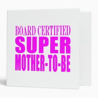 Pink Baby Showers Gifts : Super Mother to Be Binder