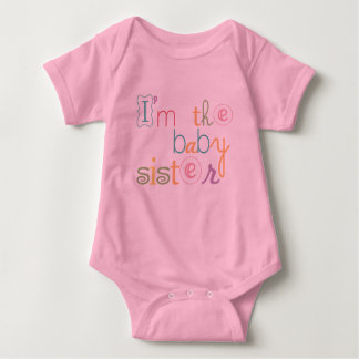 Pink Baby Sister Girl Baby Romper