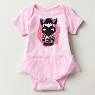 Pink baby tutu baby bodysuit