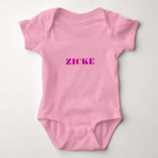 Pink Babybody - nanny goat Baby Bodysuit