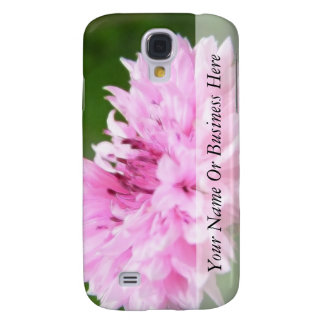 Pink Bachelor Button Samsung Galaxy S4 Cover