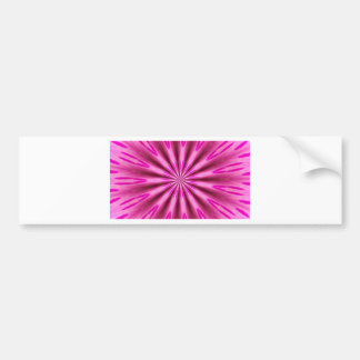 Pink background bumper sticker