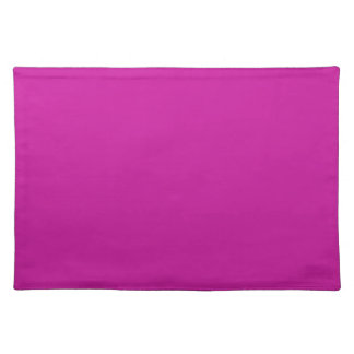 Pink Background on a Placemat