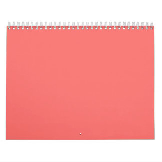 Pink Backgrounds on a Calendar