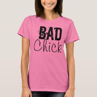 Pink Bad Chick Always Regular Tee