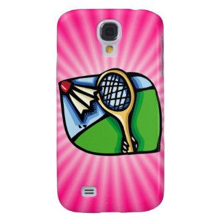 Pink Badminton Galaxy S4 Cover