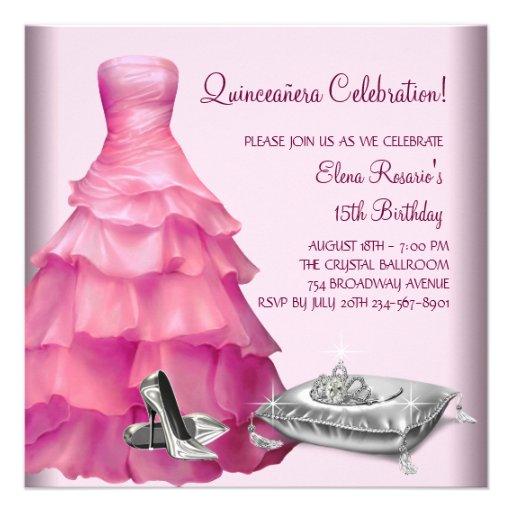 Personalized Debutante Invitations Custominvitations4u Com