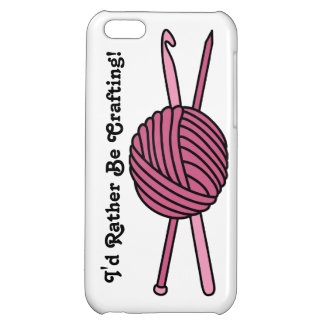 Pink Ball of Yarn (Knit & Crochet) iPhone 5C Covers