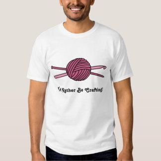 Pink Ball of Yarn (Knit & Crochet) T-shirt