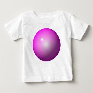 Pink ball shiny graphic design logo background baby T-Shirt