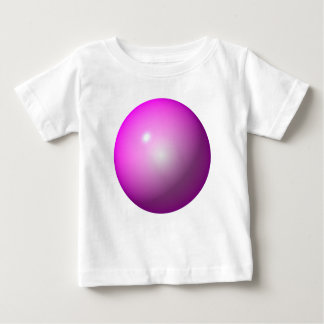Pink ball shiny graphic design logo background tee shirt