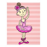 Pink Ballerina Girl Personalized Flyer