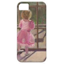 pink ballerina iPhone 5 covers
