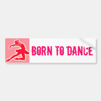 Pink Ballet 'Born to dance' sticker