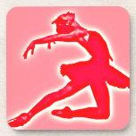 Pink Ballet Coaster