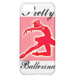 Pink Ballet 'Pretty ballerina' iPhone Case Cover For iPhone 5C