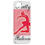 Pink Ballet 'Pretty ballerina' iPhone Case iPhone 5 Cases