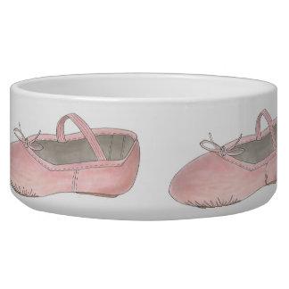Pink Ballet Shoe Slipper Dance Teacher Ballerina Bowl