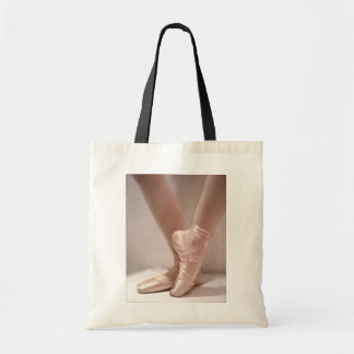 Pink Ballet Slippers Canvas Bags