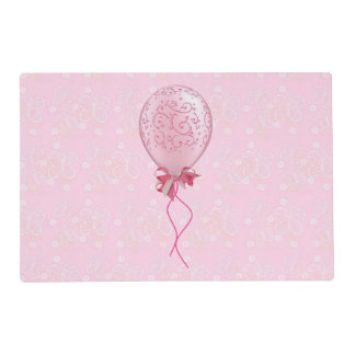 Pink Balloon 1 Placemat