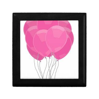 Pink Balloons Jewelry Box