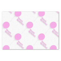 Pink Balloons Tissue Paper