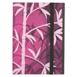 Pink bamboo pink case for iPad air