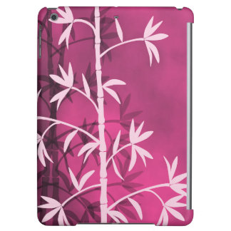 Pink bamboo pink cover for iPad air