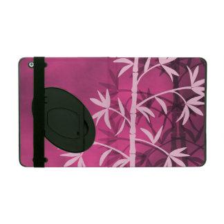 Pink bamboo pink iPad case