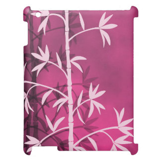 Pink bamboo pink iPad cases
